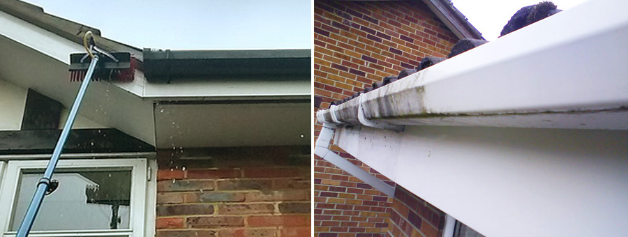 Fascia cleaning West Sussex